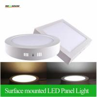 Surface Mounted LED Panel Light 6w 12w 18w Round/Square LED Ceiling Lights Free Shipping LED Downlight AC85-265V Manufactures