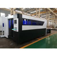 Metal Plate 4Kw Fiber Laser Cutting Machine With Working Table 2000x6000mm Manufactures