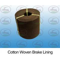 Non Toxic Woven Brake Lining Roll Pollution Free Environmental Friendly Manufactures