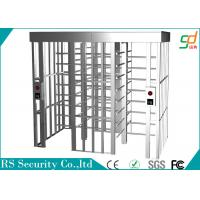 Two Lane Intelligent Full Height Turnstiles High Security Barrier Gate Manufactures