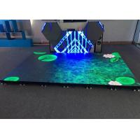 Modular Design Interactive LED Floor P4.81 Stage Indoor Advertising Led Display Manufactures