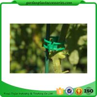 Colorful Garden Plant Accessories Plastic Garden Plant Clips / Plant Support Clips 45*40*50 Colorful Manufactures