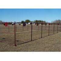8' Height x 10' Width Canada standard Temporary Construction Fencing Panels Tubing 1.6/40mm Brace 1/25mm