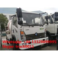 Quality factory sale best price Sino truck 4x2 concrete mixer truck,good price SINOTRUK for sale
