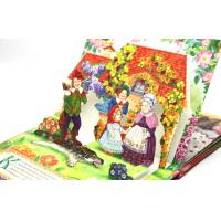 Custom Pop-up Story Book Printing Service With Pantone Color Printing Manufactures