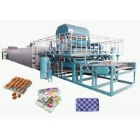 Recycled Paper Pulp Molding Machine For Producing Egg Tray 4000pcs/H Manufactures