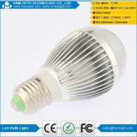 High power indoor solar led bulb light DC12V Silver and Gold housing Manufactures