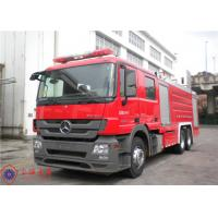 Pump 90L/S Flow Fire Fighting Truck With Split Type Welding Structure Tank Manufactures