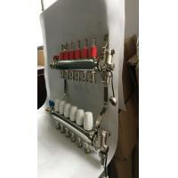 304 Stainless Steel Floor Heating Manifold In Center Heating Manufactures