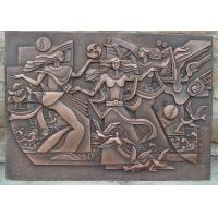 Classical Style Wall Art Bronze Relief Casting Surface Finish Anti Corrosion Manufactures