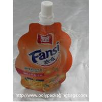 Quality Leak Proof Foldable Packaging Liquid Spout Bags For Baby Food for sale