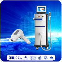 Quality 2017 Real Microchannel Diode Laser 808nm Hair Removal Machine White for sale