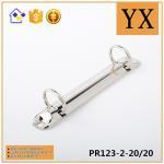 Manufacturer China 2 ring binder clips high quality metal binder mechanism Manufactures