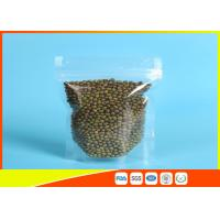 Clear Stand Up Zipper Pouch Manufactures