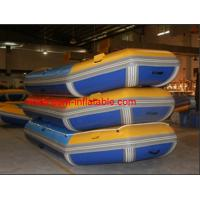 Quality inflatable boat fishing , inflatable pontoon fishing boat , inflatable paddle boat adult for sale