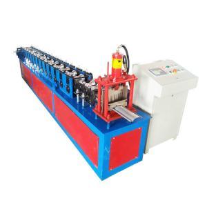 China 380V Voltage Shutter Door Roll Forming Machine Shaft Diameter 50mm Speed 8-15m/Min on sale
