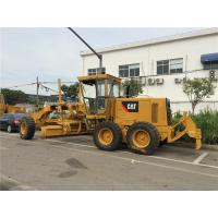 Quality Year 2014 Used Motor Grader CAT 140K , Grader Heavy EquipmentWith Push Block for sale