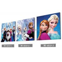 Custom Frozen Design 3D frameless Plastic Printing Service PET Pictures Manufactures
