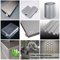 perforated aluminum sheet for facade wall cladding panel exterior building cover for building or ceiling Manufactures