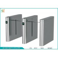 Automatic Stainless Steel Entrance Turnstiles / Turnstile Barrier Gate Manufactures