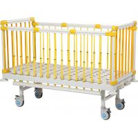 Quality Manual Crank Flat Child Hospital Bed 2080 * 950 * 500mm Size ABS Head Board for sale