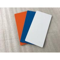Various Colors ACP Sheet Sign Boards Pollutant Resistance Easy To Maintain Manufactures