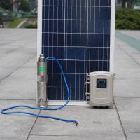 Battery powered float switch  high pressure water solar deep well pump solar submersible pump for irrigation Manufactures