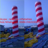 inflatable advertising balloon inflatable colume Manufactures