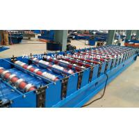 Quality Top IBR Roofing Sheet Roll Forming Machine with Delta Brand touch screen for sale