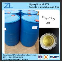 glyoxylic acid 50% for hair treatment,CAS NO.:298-12-4 Manufactures
