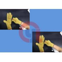 Light Weight Aramid Fiber Gloves / Cut Proof Gloves For Armed Police Operation Manufactures