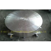P355QH EN10273 Carbon Steel Forged Disc  PED  Export To Europe 3.1 Certificate Pressure Vessel Blank Flange Manufactures