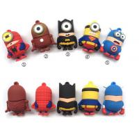 usb minion super hero man bat man usb flash drive 32GB Memory Stick Pen Drive usb 2.0 Manufactures