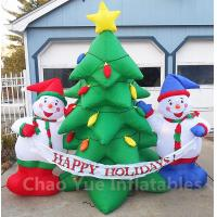 2015 Hot Sale Inflatable Christmas Tree Snowman Decorations for Christmas Holiday Manufactures