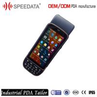 Rugged Android Mobile PDA Barcode Scanner Printer for Cargo Management Manufactures