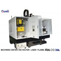 Quality Full Cover Shroud CNC Vertical Machining Center For Iron Ore Engraving for sale