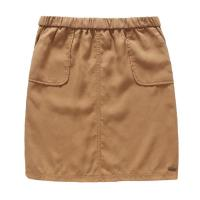 Quality Spring / Summer Ladies In Short Skirts European style , Ladies Summer Skirts Brown for sale