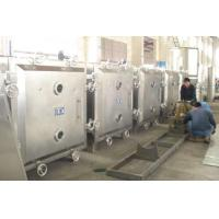 110 / 220 / 380V Industrial Vacuum Tray Dryer Low Temperature Static Drying Manufactures