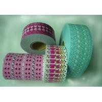 China Pink Colorful Pvc Shrink Sleeve Labels Laminated Glossy Finish / Printing Shrinkable Sleeves on sale