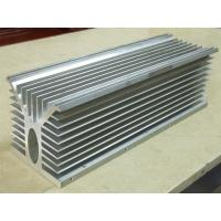 6061 Alloy CNC Milling Large Aluminium Extruded Heat Sink 300MM Width Manufactures