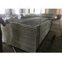 """8ftx12ft 1830mm x 2650mm tubing  1½""""(38mm) cross brace temporary chain link fence mesh spacing  2¼""""x2¼""""(57mmx57mm) Manufactures"""
