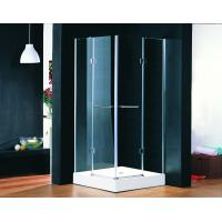 Quality Tempered Glass Square Shower Cabins 800 x 800 ABS Square Shower Trays for sale