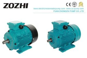 IP44 Aluminum Electric Induction Motor TEFC For Pump Reducer Manufactures