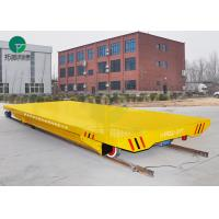 China Remote Control Cargo Handling Electrical Operated Cross Bay Self Propelled Trailer On Rail on sale