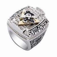 Buy cheap Championship Ring, Customized Designs Welcomed from wholesalers