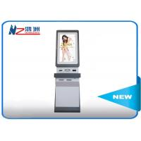 Windows OS Touch Screen Information Kiosk Self Service In Hotel , White Manufactures