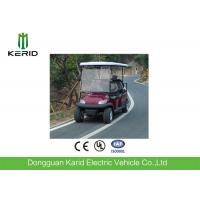 6 Passenger Electric Car Electrical Golf Carts With Rear Wheel Mechanical Drum Brake Manufactures