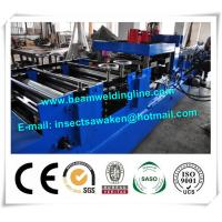Quick Changeable C Z Purlin Roll Forming Machine / Tube End Forming Machine Manufactures