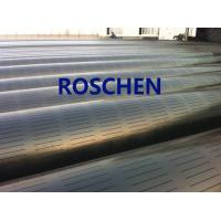 Slotted Pipe , Carbon Steel Tube , Oil Screen Tube Control Sand Coring Drilling Manufactures