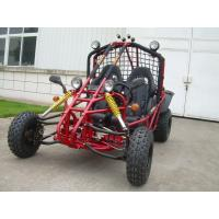 Farm Adult Pedal CVT Go Kart , Big Horse Power Engine 2 Seat Go Karts Manufactures